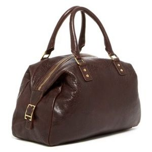 Monika Chiang brown leather bag/purse